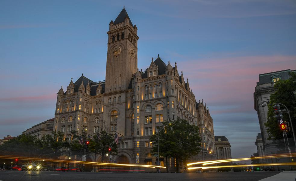 Swamp Thing: Meet The Man Tracking What Smells Fishy At Trump's D.C. Hotel