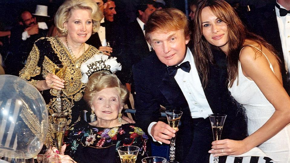 New Year's With The Trumps