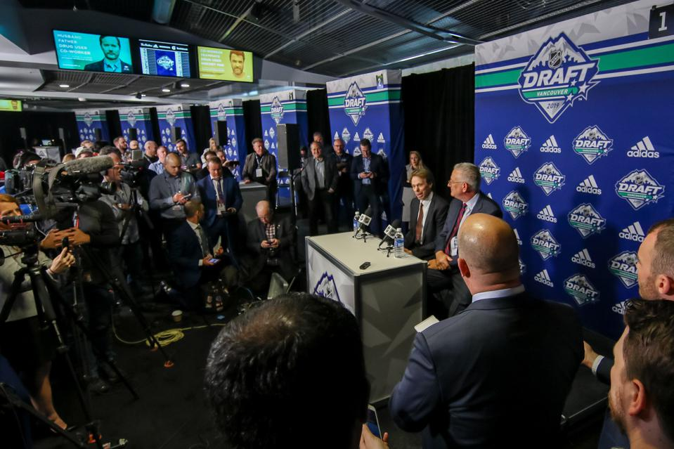 2019 NHL Draft - Seattle Press Conference