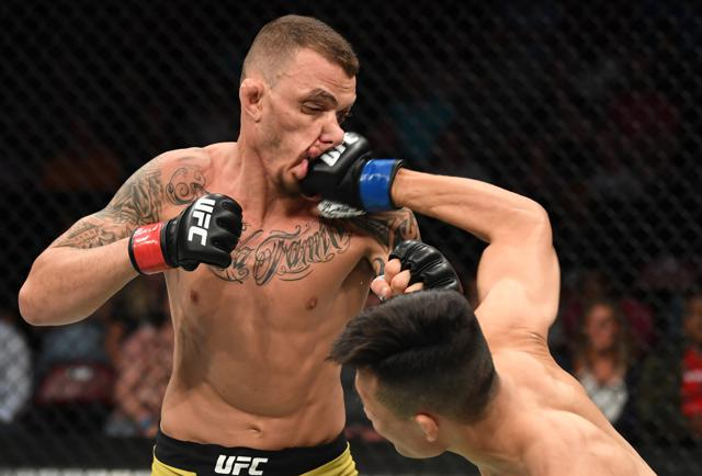 UFC Fight Night 154: Stats And Highlights From Moicano Vs. 'The Korean Zombie'