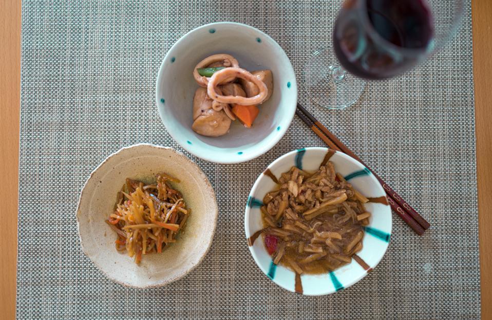 wine paring with Washoku (Japanese food)