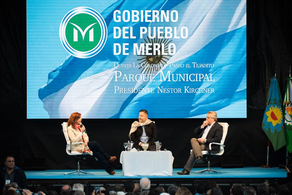 Alberto Fernandez and Cristina Fernandez First Joint Public Appearance