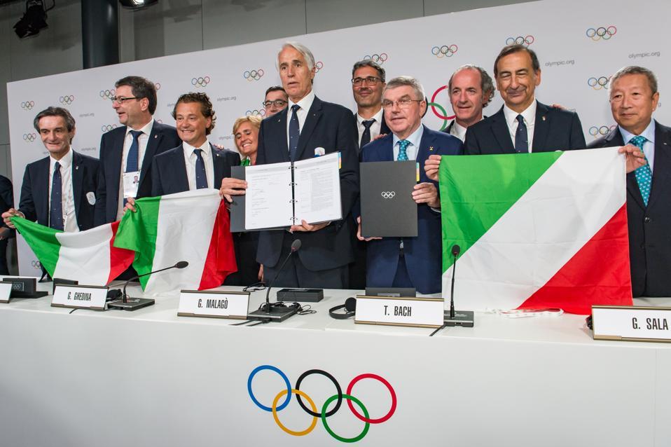 IOC Announcement - Press Conference