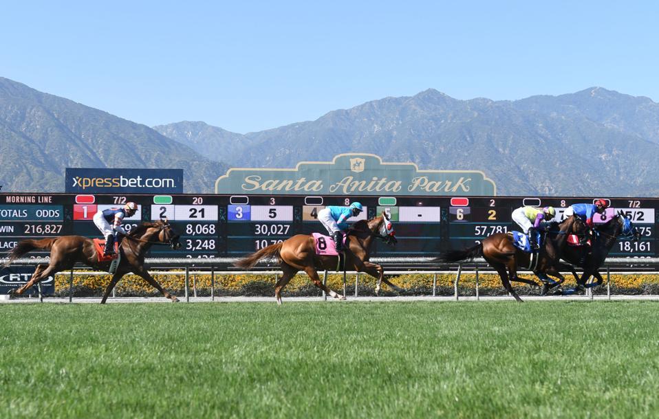 HORSE RACING: JUN 23 Santa Anita Horse Racing