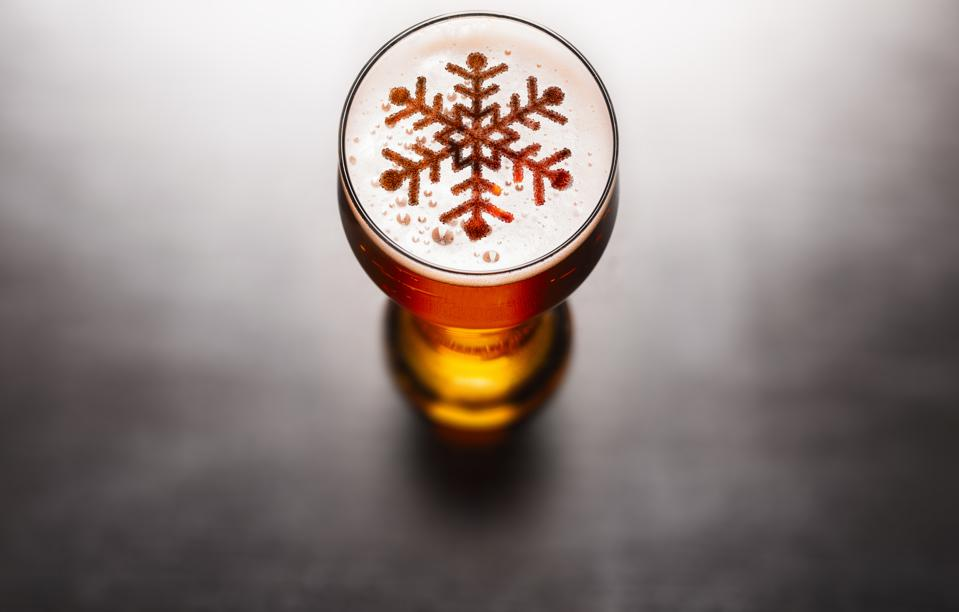 Christmas or New Year beer