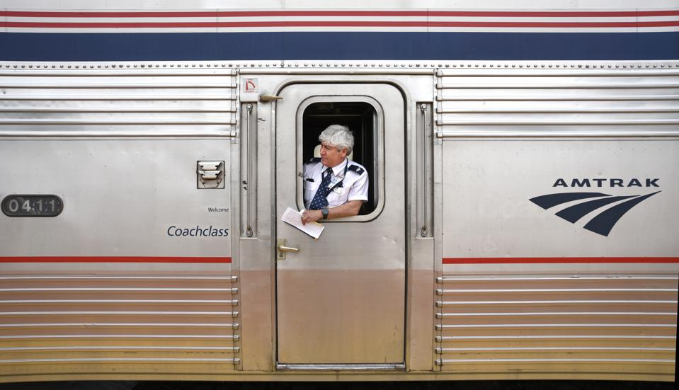 Amtrak passenger train USA