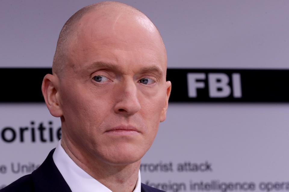 DOJ Says Two Wiretap Warrants Against Former Trump Aide Carter Page Are Invalid