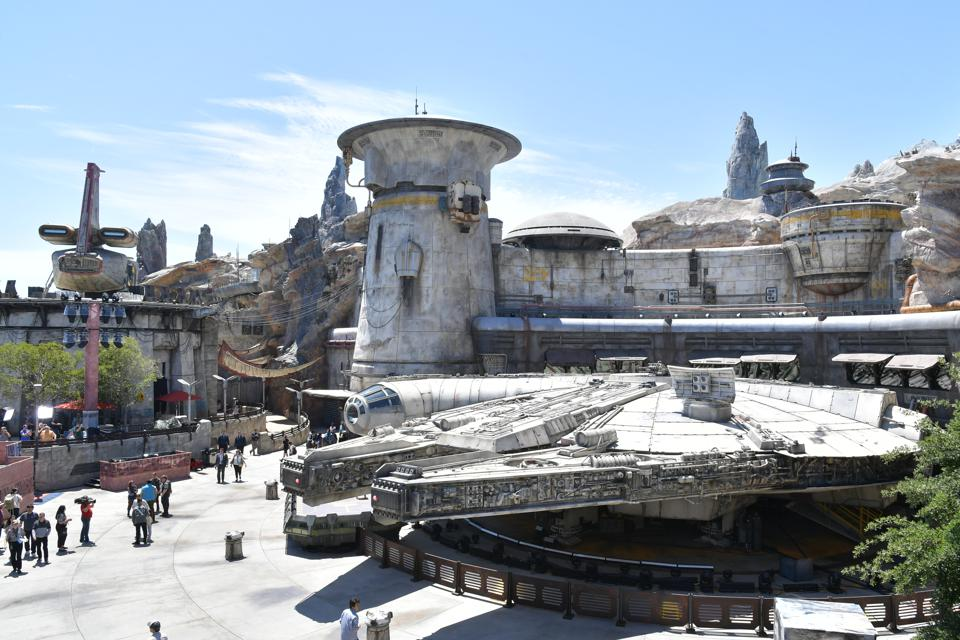 Wireless technology is embedded into Star Wars: Galaxy's Edge (Amy Sussman/Getty Images)