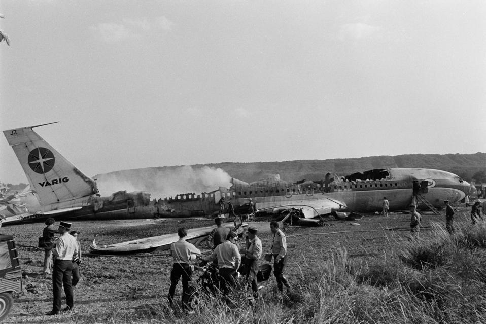 Crash du Vol 820 Varig près d'Orly en 1973