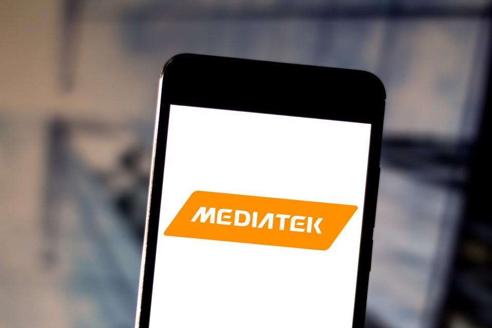 The MediaTek logo.