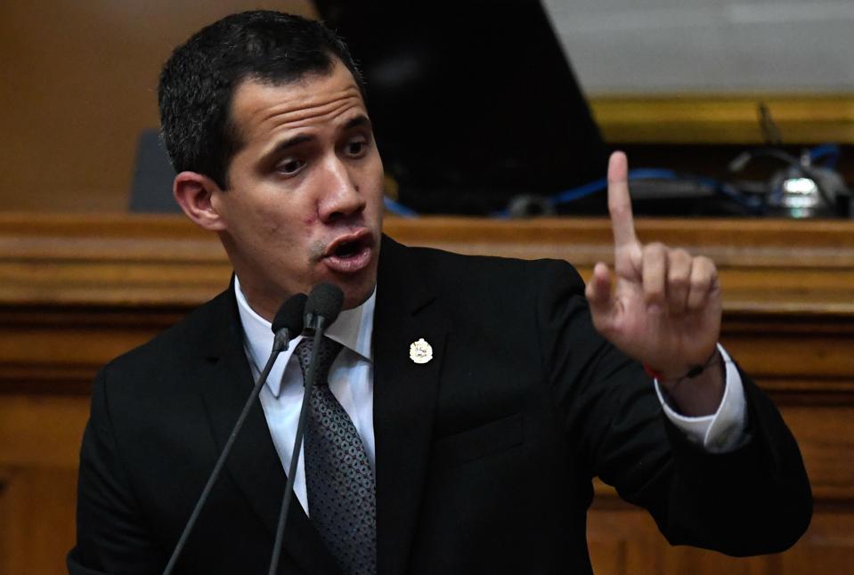 Venezuelan interim president Juan Guaido