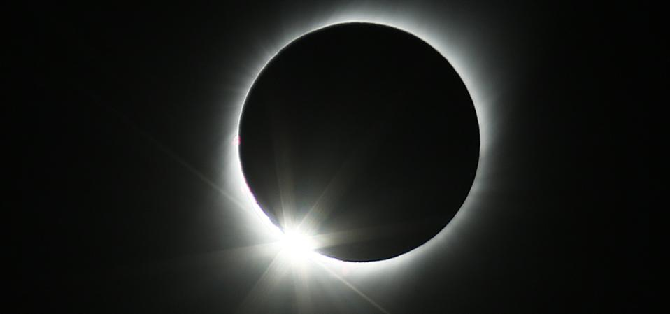 Total solar eclipse on July 2, 2019 in Paiguano, Chile. (Photo by Marcelo Hernandez/Getty Images)