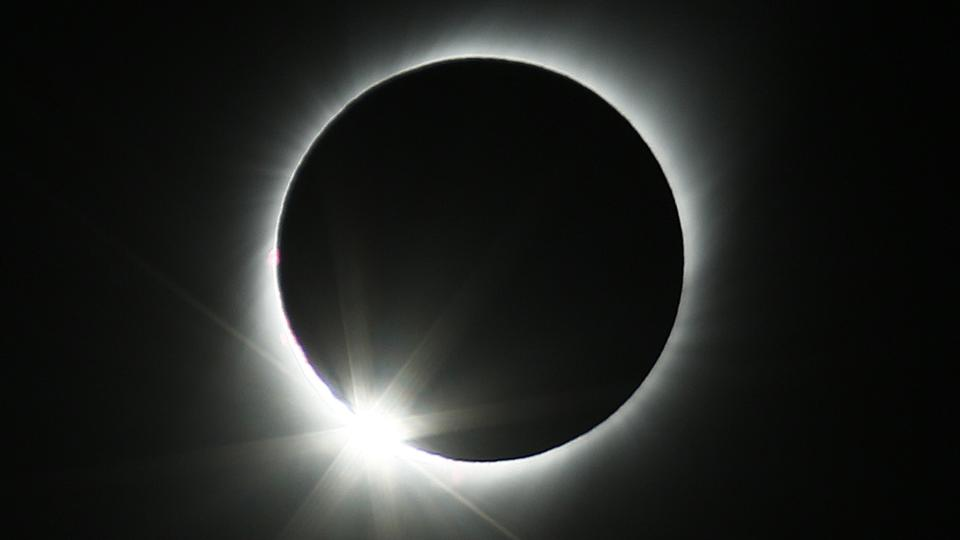 Total Solar Eclipse Seen from Chile