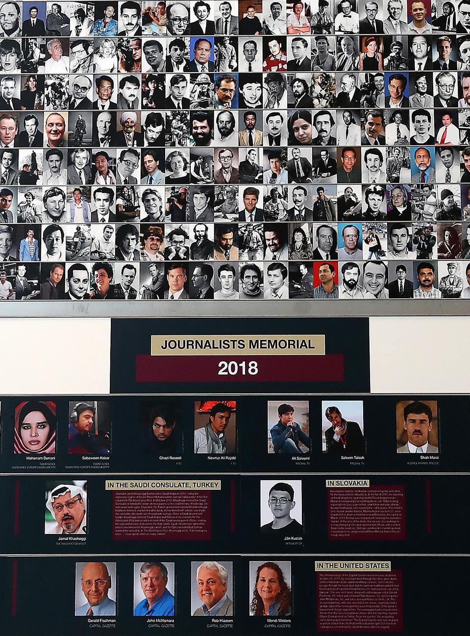 The Newseum Hosts Annual Journalist Memorial Re-Dedication