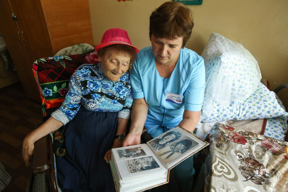 Nursing home in Tambov Region, Russia