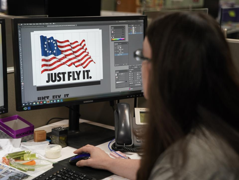 Betsy Ross American Flag Stirs Controversy As Nike Cancels Themed Shoe