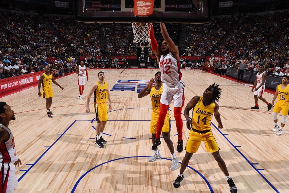 2019 Las Vegas Summer League - Day 1 - Los Angeles Lakers v Chicago Bulls