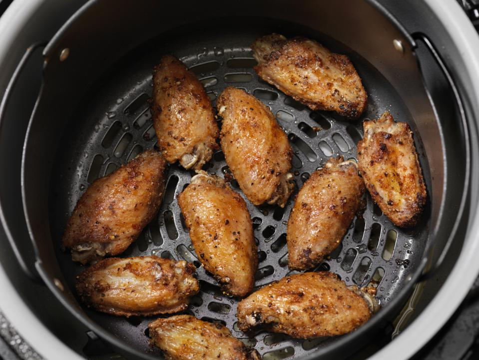 Air Fried, Crispy Chicken Wings