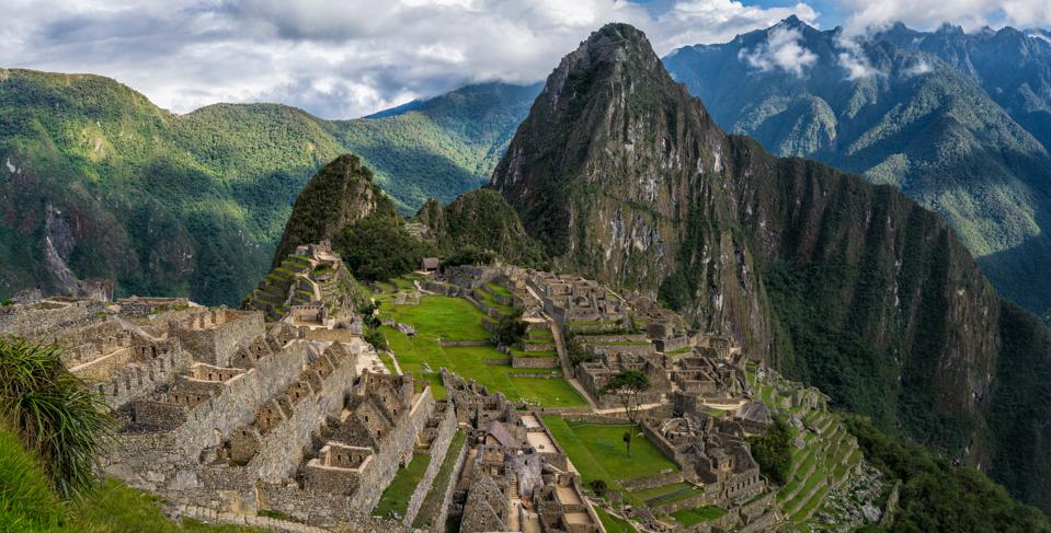 Macchu Picchu. It's one of the best places to visit.