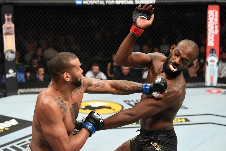 Coach: Without Injury, Thiago Santos Would Have Beaten Jon Jones At UFC 239