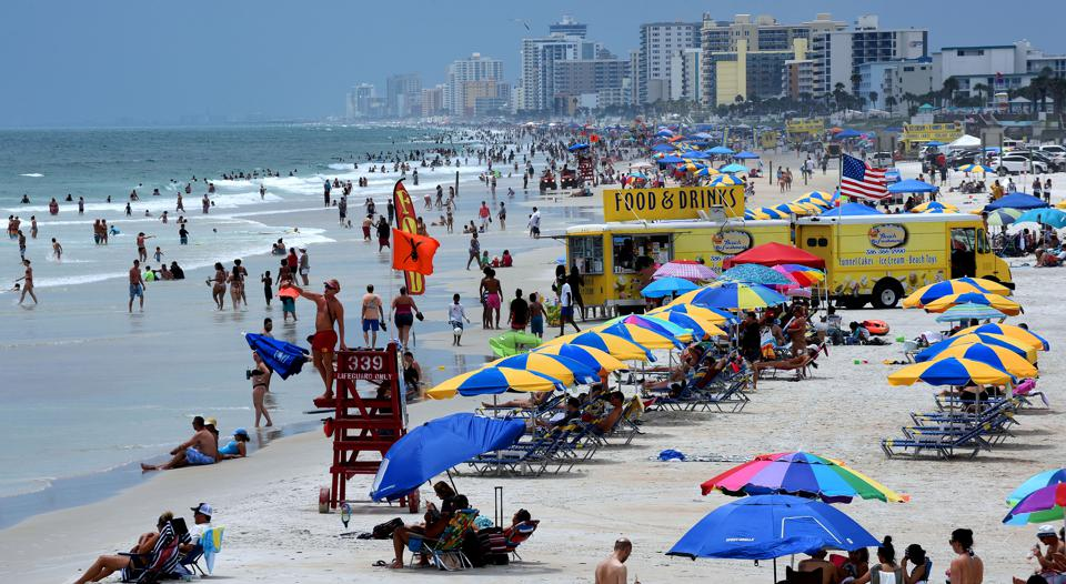 Daytona Beach On Independence Day Weekend