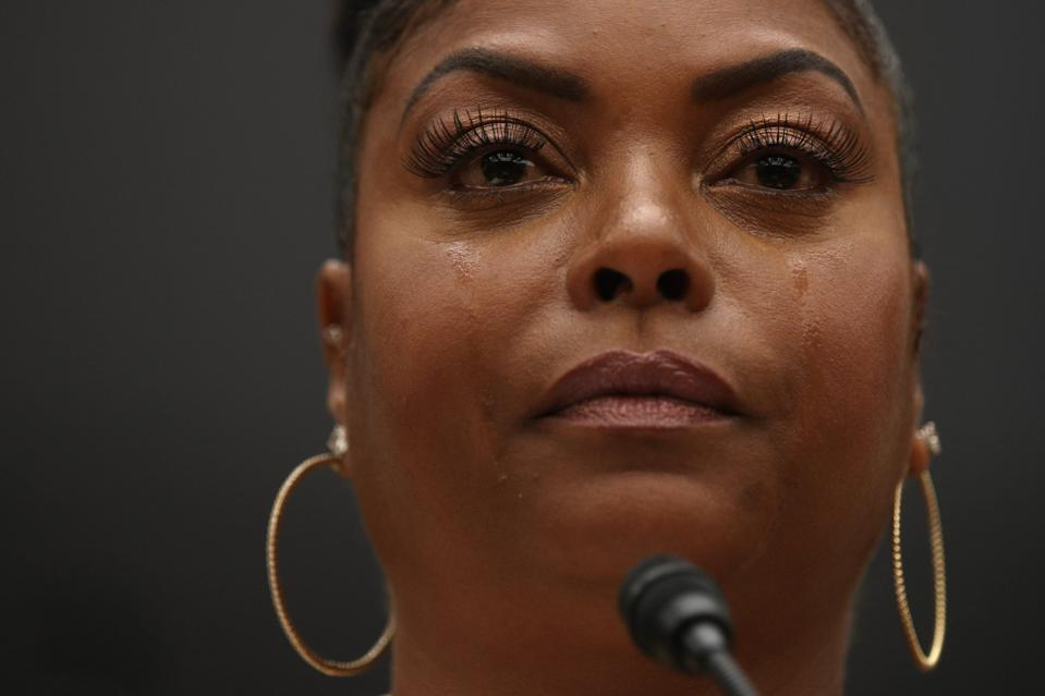 Actress Taraji P. Henson Speaks At Congressional Black Caucus Forum On Black Youth Suicide And Mental Health
