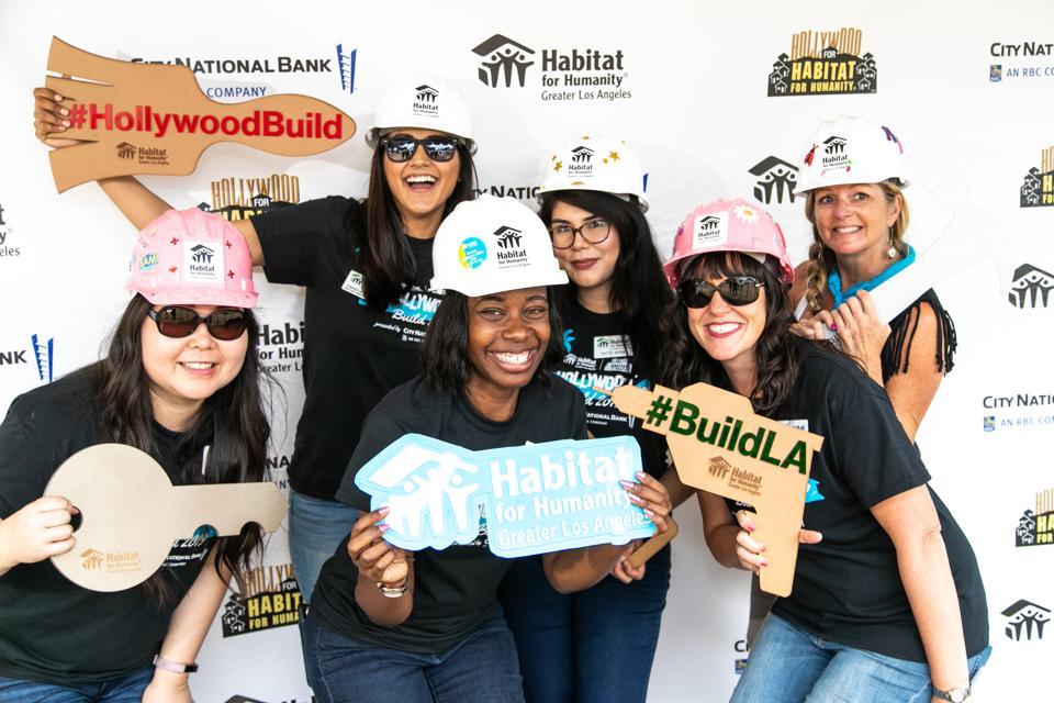 Habitat LA Annual Hollywood Build Event