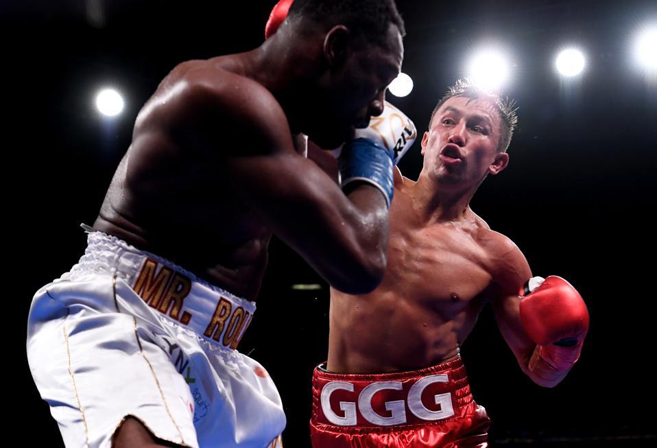 Gennady Golovkin vs Sergiy Derevyanchenko odds purses records prediction