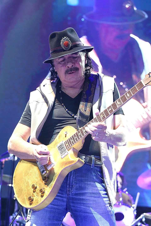 Santana In Concert - Austin, TX