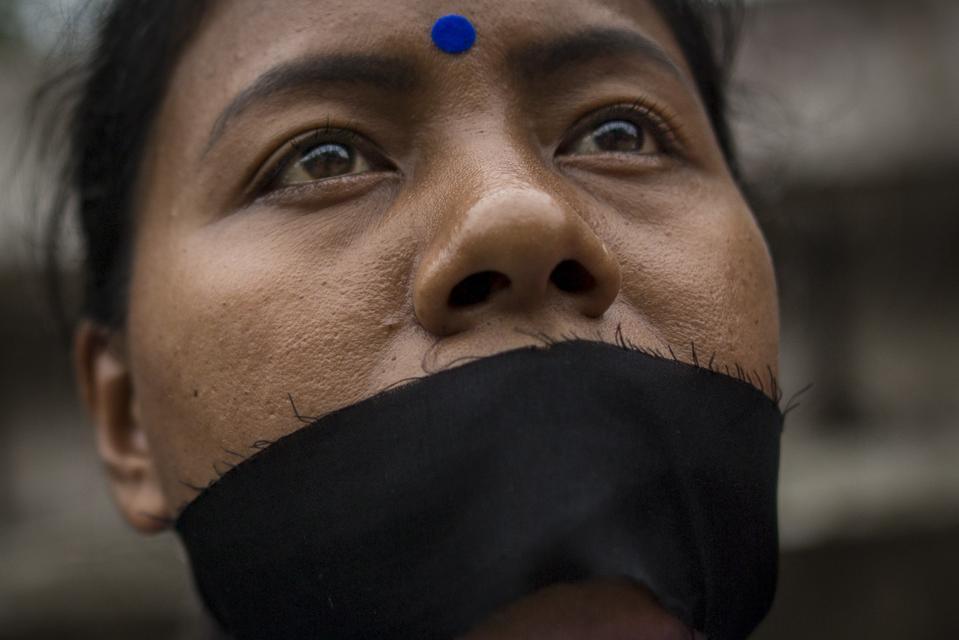 Protest against child rape