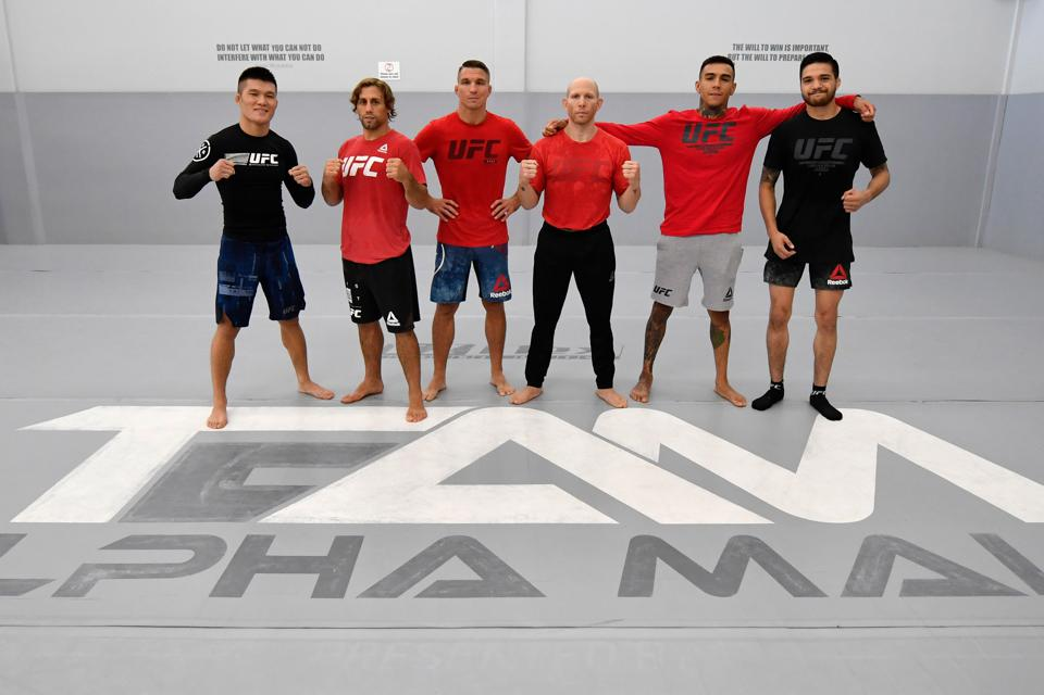 UFC Fight Night De Randamie v Ladd: Open Workouts