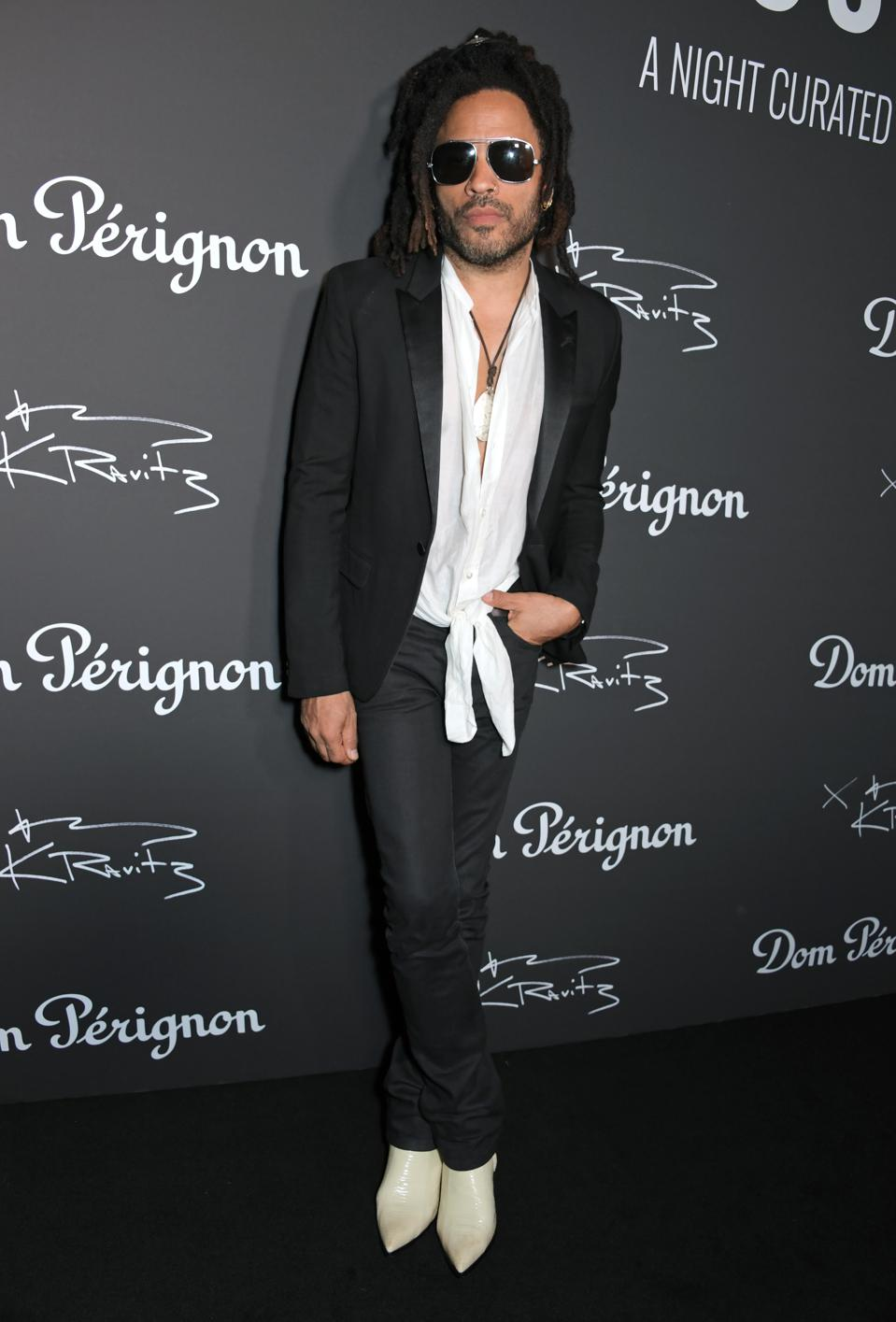 Dom Perignon Host Assemblage Exhibition Curated By Lenny Kravitz