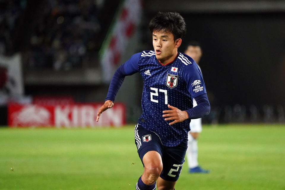 hot sale online e67ec 9471e Takefusa Kubo, The 'Japanese Messi,' Takes Long Road From La ...