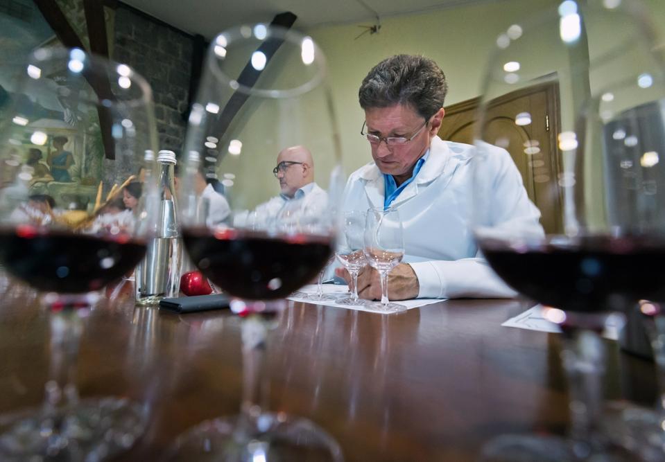 Wine tasting at Massandra winery in Crimea