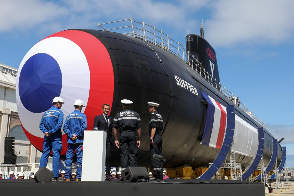 FRANCE-INDUSTRY-NAVAL-DEFENCE-SUBMARINE