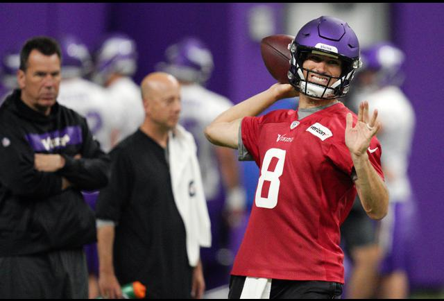 Kirk Cousins Of The Vikings Is Not The Only Quarterback Under The Gun This Year