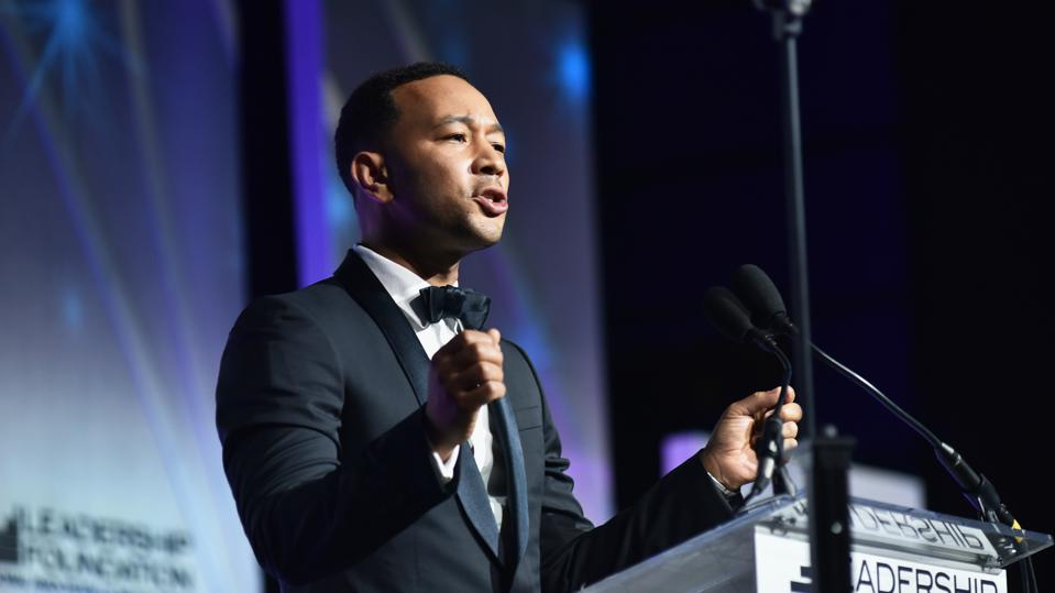 John Legend Receives 2019 Service To America Leadership Award