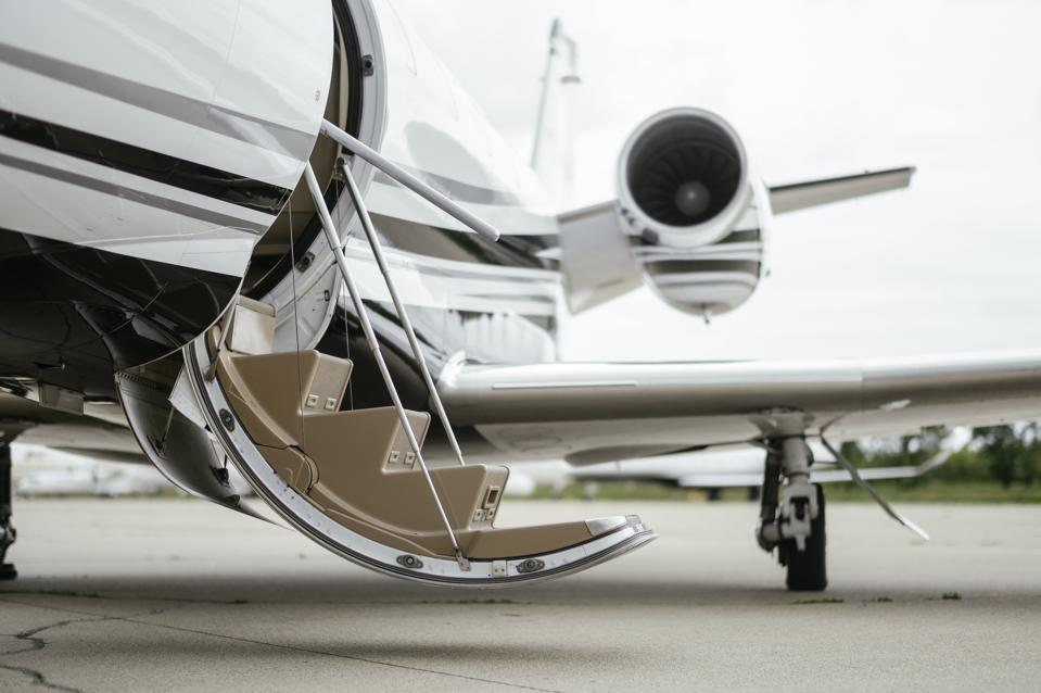 Companies are going out of their way to help during the coronavirus crisis. One travel agent even summoned a private jet to bring a customer home.