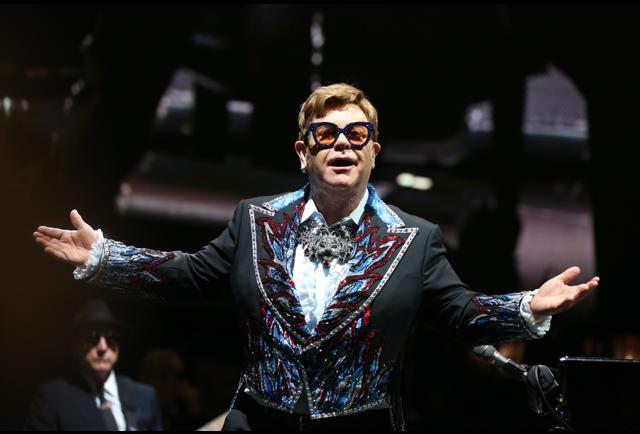 Elton John Dominates The Rock Chart Like He Never Has Before