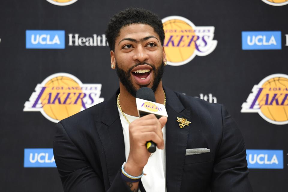 Los Angeles Lakers Introduce Anthony Davis - Press Conference