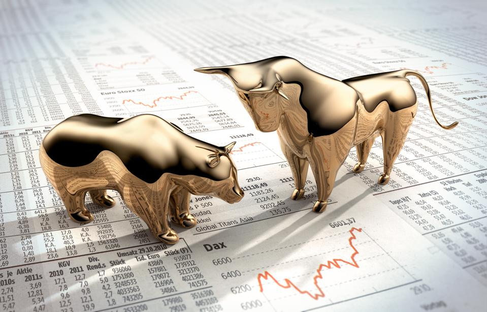 Bull and Bear on stock market prices