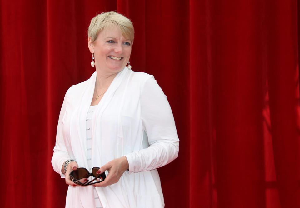 US actress Alison Arngrim poses during a