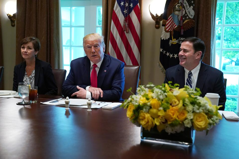 President Donald Trump Hosts Working Lunch With Governors On Workforce Freedom And Mobility