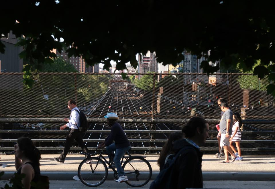 Commuter Rail Corridor in New York City