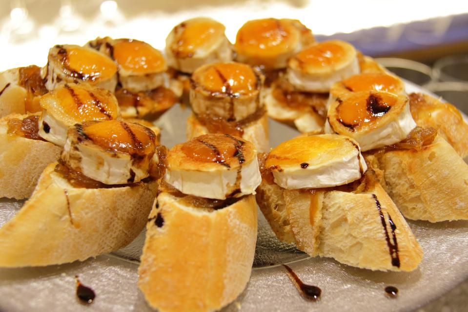 table of pintxos