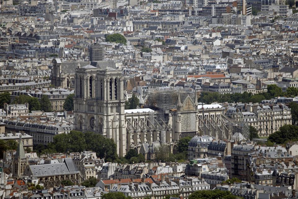 Renovation Of Notre Dame De Paris