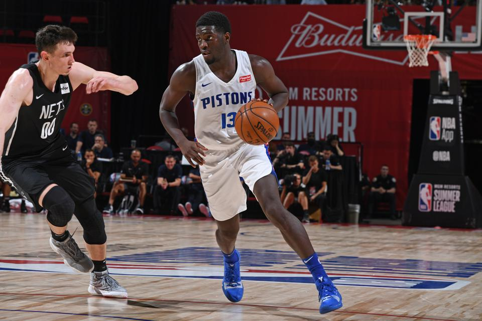 2019 Las Vegas Summer League - Brooklyn Nets v Detroit Pistons
