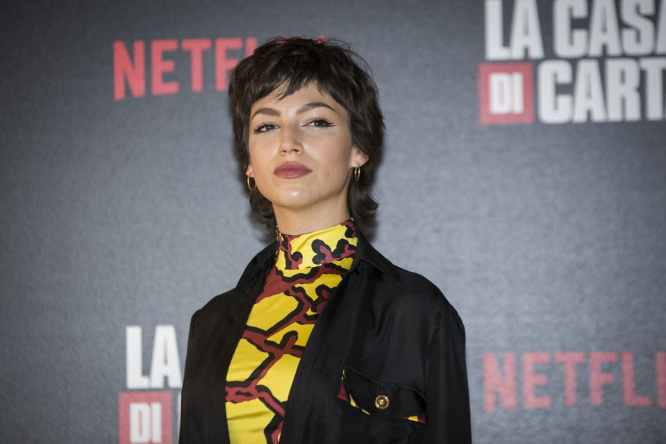 Ursula Corbero  attend the photocall of the Netflix tv show...