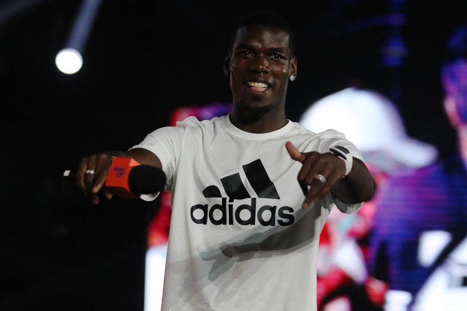Paul Pogba Attends Adidas Event In Shanghai