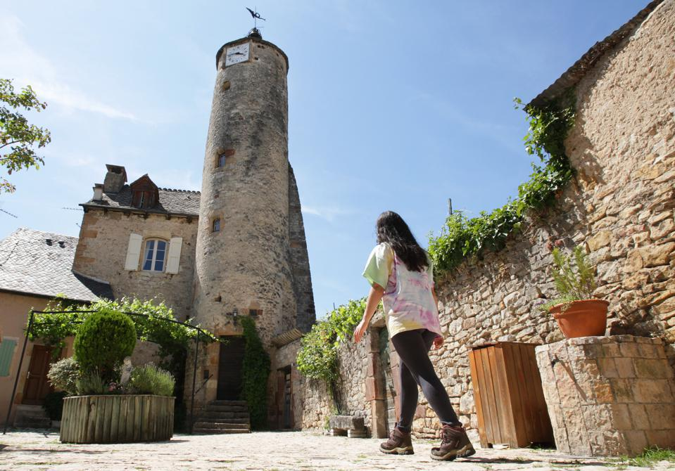 Daily Life - Historic Medieval Village In South Of France